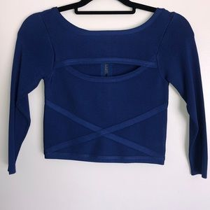 BEBE Cut Out Top